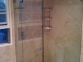 Antique beige marble wall paneling