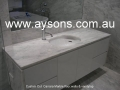 Carrara Marble vanity top
