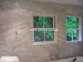 Imperail white Marble custom cut wall panels