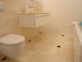 Ivory travertine panels
