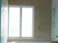 Travertine paneling