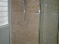 travertine shower panel