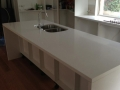 Caesarstone Bench tops with but joined waterfall