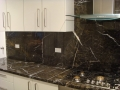 Charcoal Lightning Benchtops and Splashback