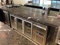 Charcoal Lightning Marble Bench Tops With 50mm mitre edges 2