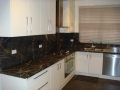 Charcoal Lightning Marble Kitchen
