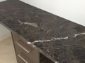 Charcoal  lighting marble top