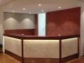 Ivory Travertine Reception Panels
