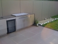 Pietra Grey Limestone BBQ bench top