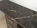 Charcoal  lighting marble top