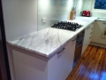 Imperial White Marble 30mm honed