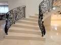 Fossil beige custom staircase