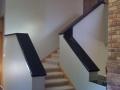Indian Jet Black Granite StaircaseRailing