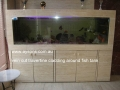 Vein Cut Travertine fish tank