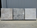 Classic Silver and Ivory Travertine